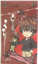 Death Note Light Fastener Charm Anime Manga NEW