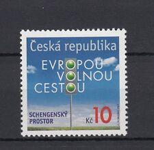 Repubblica Ceca 2007 n. 537 Adesione al trattato di Schengen   MNH
