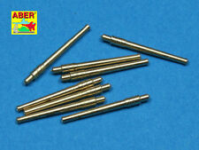 Aber 1:700 Set of 8 pcs 356mm (14in) L45 Vickers Type 41 Barrels SL-028*