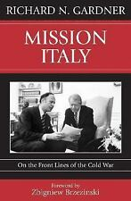Mission Italy: On the Front Lines of the Cold War-ExLibrary
