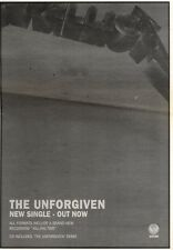 2/11/91 Pgn19 Advert: the Unforgiven New Single From Metallica Out Now 10x7