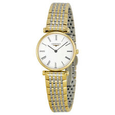 Longines La Grande 18kt Gold-tone Stainless Steel Ladies Watch L4.209.2.11.7
