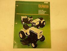 1976 Bolens Sales Catalog for Models G8 G10 G12 G14 QT16 QS16 HT20