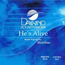 He's Alive Accompaniment CD By Heirline Daywind Soundtracks Easter NEW
