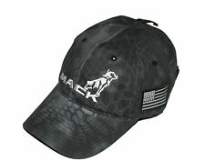 Mack Trucks Black Tactical USA American Flag Patch Hat