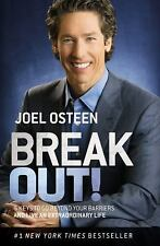NEW Break Out! 5 Keys to Go Beyond Your Barriers by Joel Osteen Paperback Pastor