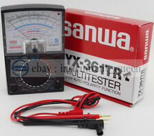 SANWA YX-361TR Analog Analogue Multitester Multimeter Wide measurement range