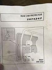 Polaris Ranger 2010-2011 Back Cab Protector Screen Part Number 2874247