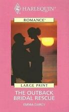 The Outback Bridal Rescue (Harlequin Romance - Large Print)-ExLibrary