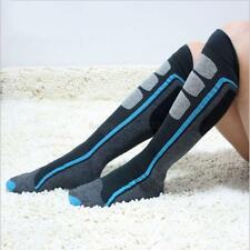 1 Pair New Mens Womens Ladies Skiing Ski Hiking Snowboard Snow Warm Long Socks