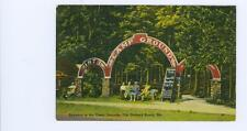 Old Orchard Beach, Maine   Campgrounds used  linen postcard 1941