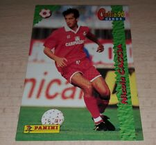 CARD CALCIATORI PANINI 96 PIACENZA CACCIA CALCIO FOOTBALL SOCCER ALBUM