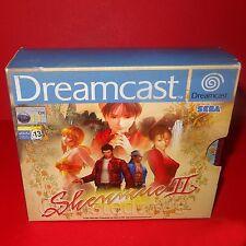 Vintage 2001 SEGA DREAMCAST SHENMUE II 2 Juego Para 1 jugadores Completo En Caja Raro