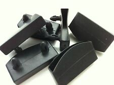 6 x Plastic slats side caps for metal, leather beds etc.. (51mm-53mm wide)