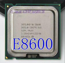 Free shipping Intel Core 2 Duo E8600 3.33GHz/ 6M /1333MHz LGA775 Processor