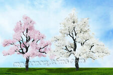 MP SCENERY 1 Blossom Cherry O Scale Architectural Model Trees Railroad Layout
