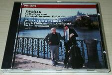 DVORAK-CELLO CONCERTO IN B-CD 1989-JULIAN LLOYD WEBBER-NEUMANN-FULL SILVER RING