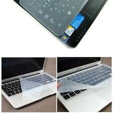 "Universal Clear Silicone Desktop Laptop Keyboard Cover Protector 12""  13"""