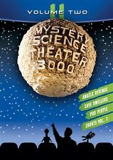 MYSTERY SCIENCE THEATER 3000 VOLUME TWO 2 II New Sealed 4 DVD Set MST3K