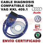 CABLE DE DIAGNOSIS VAGCOM KKL 409.1, OBD2, OBDII
