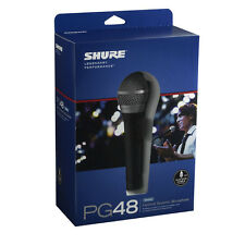 Shure PG48-XLR Dynamic Wired Professional Microphone FREE SHIPPING