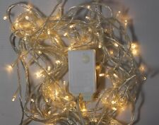100/200//400 LED String Fairy Lights Indoor Xmas Christmas Tree Party UK Plug
