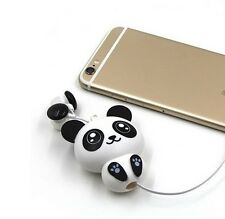 Cute Kawaii Cheese Cat Bear Panda Cartoon Retractable Mp3 Mp4 Earphone For S 568