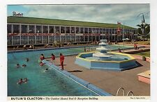HOLIDAY CAMP, BUTLIN'S CLACTON, OUTDOOR HEATED POOL & RECEPTION, JOHN HINDE LTD