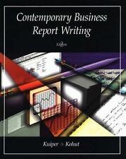 Contemporary Business Report Writing-ExLibrary