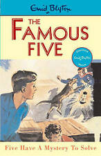 NEW (20)  FIVE HAVE A MYSTERY TO SOLVE ( FAMOUS FIVE book ) Enid Blyton