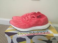 Adidas Ultra Boost Uncaged Ray red Pink womens size 8 BB3903