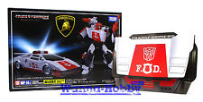 75215 TRANSFORMERS MASTER PIECE MP-14+ Red Alert Special Anime with coin MISB