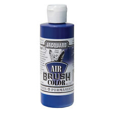 Jacquard Air Brush Colours Paint for Shoes / Sneakers - Transparent Blue - 4oz
