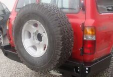 Toyota LAND CRUISER HDJ 80 REAR STEEL BUMPER WITH SPARE WHEEL CARRIER OFF -ROAD