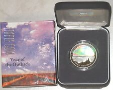 2002 Finale Outback Hologram $5 Silver Proof Coin