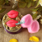Red Lip Design Silicone Chocolate Molds DIY Resin,Clay Fondant Decoration Moulds