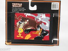 NEW TWEETY LOONEY TUNES KIDS TRIFOLD WALLET TAZ TWEETY BUGS BUNNY DAFFY