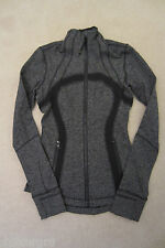 Lululemon Define Jacket Giant Herringbone Black Heathered Black 6