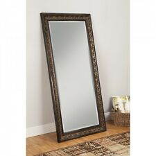 Full Length Mirror Floor Cheval Free Standing Bedroom Finish Dressing Tilt New