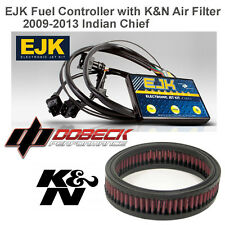 Indian Chief 09-13 EJK Fuel Injection Controller & K&N Air Filter E-3290 EFI