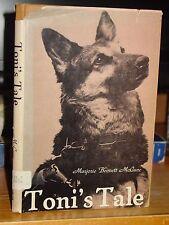 Toni's Tale, True Story Seeing Eye Guide Dog German Shepherd HC/DJ