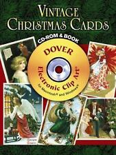 Dover Electronic Clip Art - Book & CD   - Vintage Christmas Cards