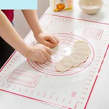 Silicone Fibreglass Rolling Dough Pad Pastry Bakeware Silpat Liner Baking Mat TR