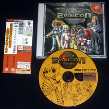 EVOLUTION Dreamcast DC Versione NTSC Giapponese ••••• COMPLETO