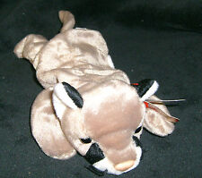 TY Original Beanie Baby CANYON the Cougar Date of Birth May 29, 1998 w/hang tag