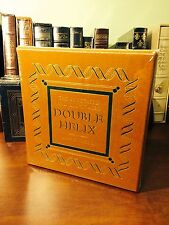 James Watson: THE DOUBLE HELIX ANNOTATED EDITION Personally SIGNED EASTON PRESS