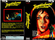"VHS - "" JAGDINFERNO ( The Deadly Hunt ) "" (1971) - Jim Hutton"
