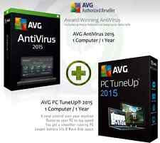 AVG AntiVirus 2015 + AVG PC Tuneup® 2015 - 1 User 1 Year | License Key Only