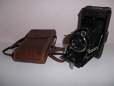 VINTAGE CAMERA ZEISS IKON IKONTA FOLDING CAMERA ZEISS IKON COMPUR LENS SUPERB