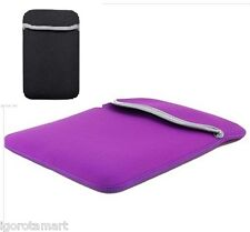 "Stylish Neoprene Soft Pouch 6"" 7"" 9.7"" 10""  Inch Compuer Netbook Tablet Case"